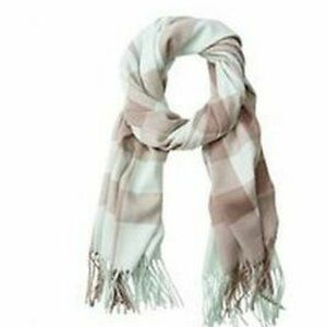 Yarn Dyed Plaid Scarf - Light Blue by Indigo Scarf